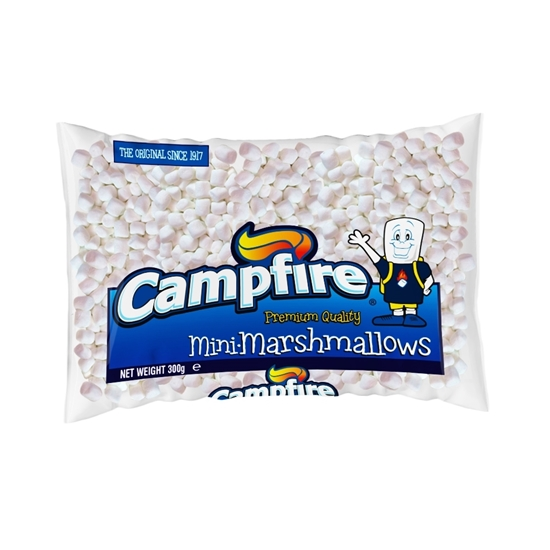 Picture of Campfire  Mini White Marshmallow (300 G X 12 Pouch)