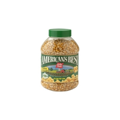 Picture of Jolly Time Yellow Pop Corn American Best-850gm*12