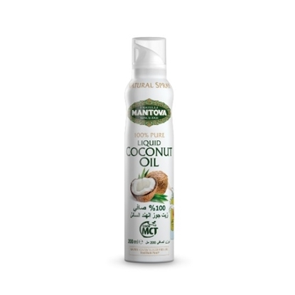Picture of MANTOVA COCONUT OIL SPRAY 200 ml*12