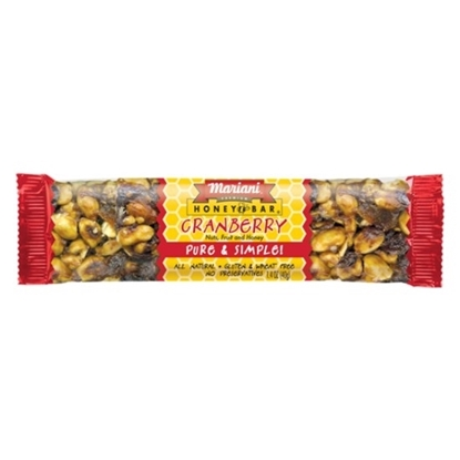 Picture of MARIANI Honey Cranberry Bar 30x40g