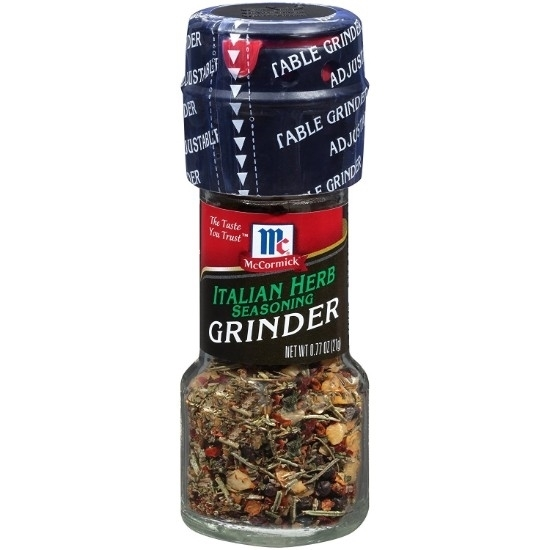 Picture of McCormic HERB GRINDER ITALIAN BLEND-13gm*6
