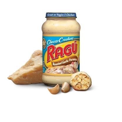 Picture of Ragu Cheese Creations Roasted Garlic Parmessan 12 /16oz
