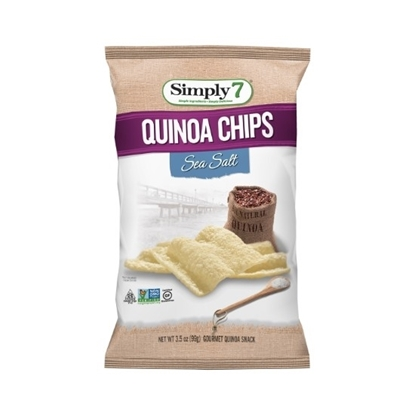 Picture of Simply 7 Quinoa Chips Sea Salt 99 G*12