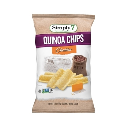 Picture of Simply 7 Quinoa Chips Cheddar 99 G*12