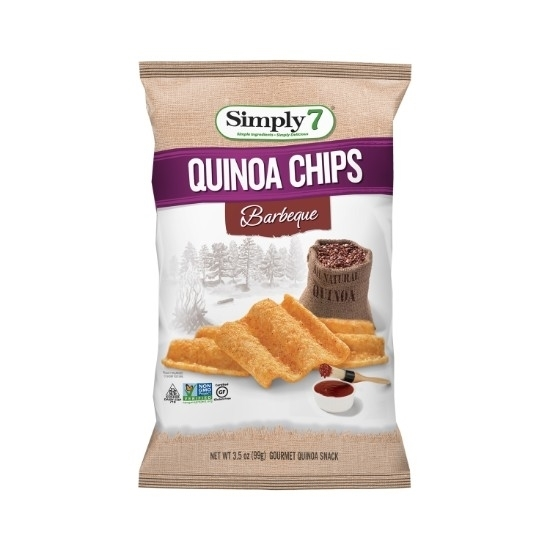 Picture of Simply 7 Quinoa Chips  Barbeque 99 G*12