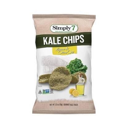 Picture of Simply 7 Kale Chips Lemon & olive oil 99 G*12