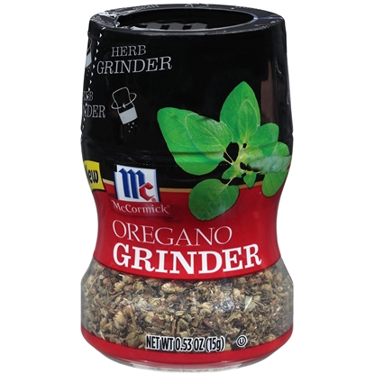 Picture of McCormic HERB GRINDER OREGANO-15gm*6