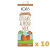 صورة KOITA FOODS ORGANIC ALMOND MILK 1000 ML x 10