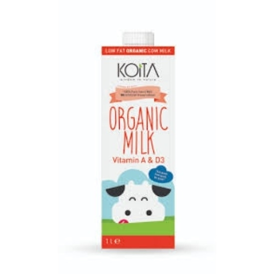Picture of KOITA FOODS ORGANIC MILK LOW FAT 1000 ML