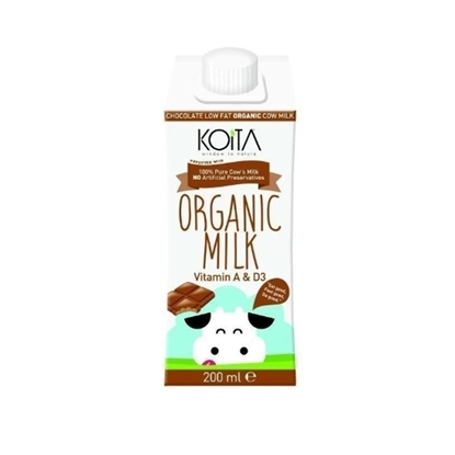 الصورة: KOITA FOODS ORGANIC MILK CHOC  200 ML