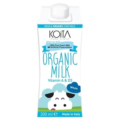 الصورة: KOITA FOODS ORGANIC WHOLE MILK 200 ML