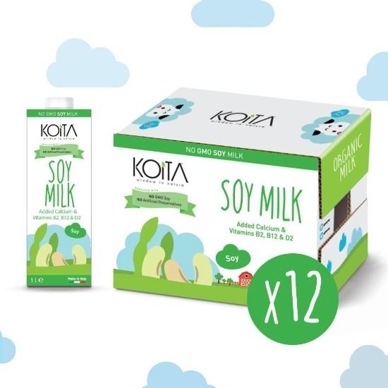 الصورة: KOITA FOODS NON GMO SOY MILK 1000 ML