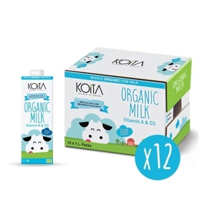 Picture of KOITA FOODS ORGANIC WHOLE MILK 1000 ML