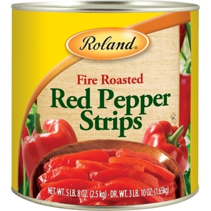 Picture of Roland Fire Roasted Red pepper Strips