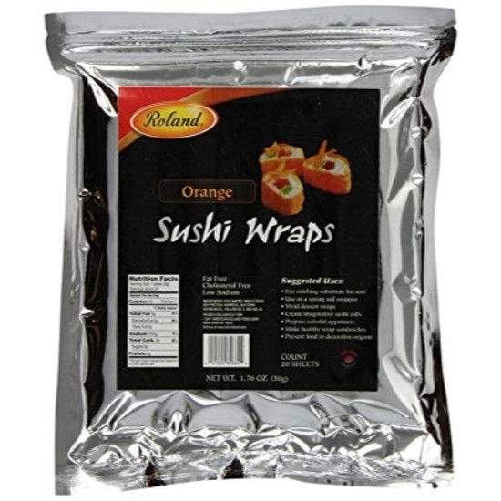 Picture of Roland Soybean Sushi Wraps (Orange)
