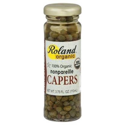 Picture of Roland Organic nonparielle Capers 110 ml Jar
