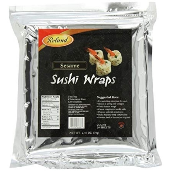 Picture of Roland Soybean Sushi Wraps (Sesame)