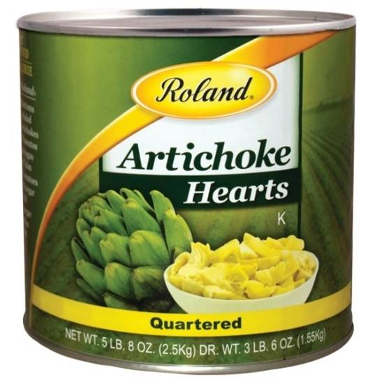 Picture of Roland Artichokes Heart Quartered Can 2.5 kg