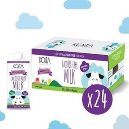 Picture of KOITA FOODS LACTOSE FREE (& HORMONE FREE) COW MILK 200 ML