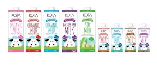 Picture of KOITA FOODS LACTOSE FREE (& HORMONE FREE) COW MILK 200 ML