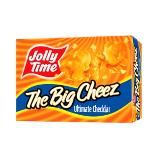 Picture of Jolly Time Pop Corn Cheddar Cheese Flavor -300gm*12