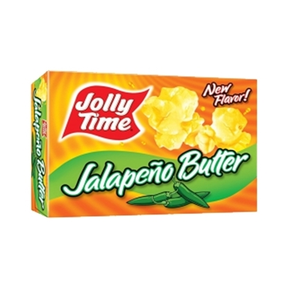 Picture of JollyTime Jalapeno Butter Pop Corn -255gm*12