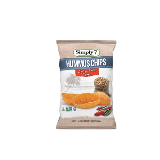 Picture of Simply7 Lentil Chips Jalapeno 113g*12