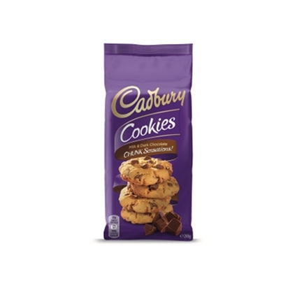 Picture of Cadbury Milk/Dark Chunk Cookies