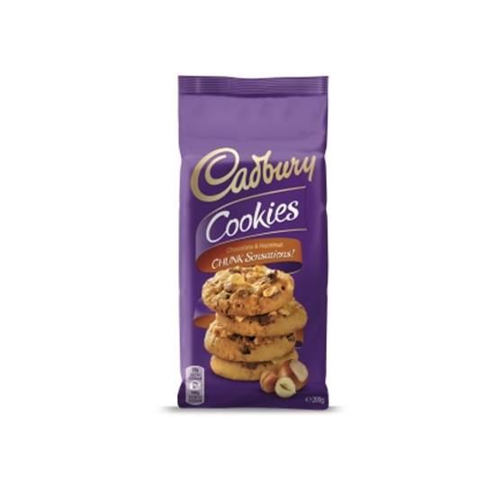 Picture of Cadbury Chocolate & Hazelnut Chunk Cookies
