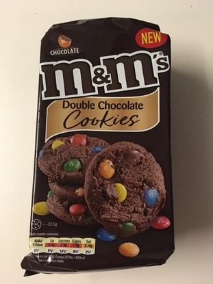 Picture of Mars - M&Ms Double Chocolate Cookies