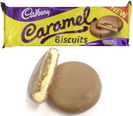 صورة بسكويت بالشوكولاته والكراميل