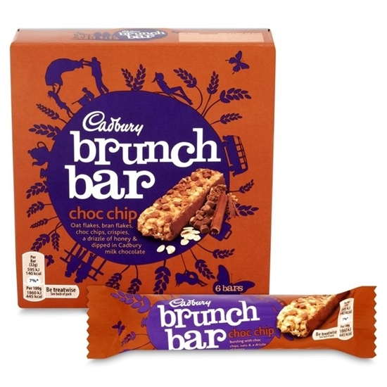 Picture of Cadbury brunch chocolate chip-192G*6