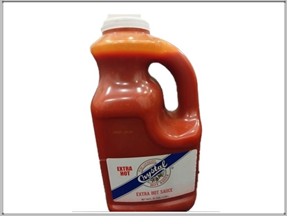 Picture of Crystal Sauce Extra Hot  SA *4 4 BY SYSCO    ( 4 Gallon * 3.785 Liter )