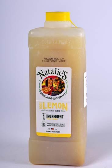 صورة عصير ناتالي عصير الليمون صافي مجمد