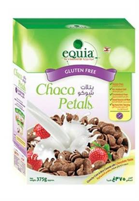 Picture of EQUIA Choco Petals Cereals Gulten free 375g