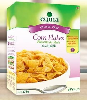 Picture of EQUIA Corn flakes Breakfast Cereal Gluten Free 375g