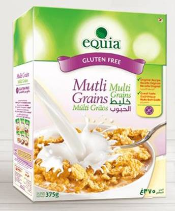 Picture of EQUIA Multigrains Breakfast Cereal Gluten Free 375g