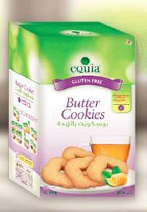 Picture of EQUIA Butter Cookies Gluten free 250 GM