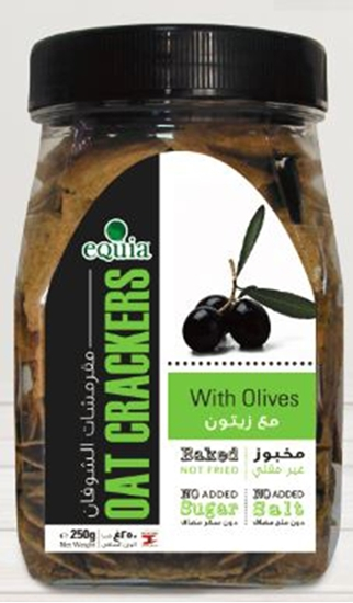 Picture of Oat crackers with Olives 250g