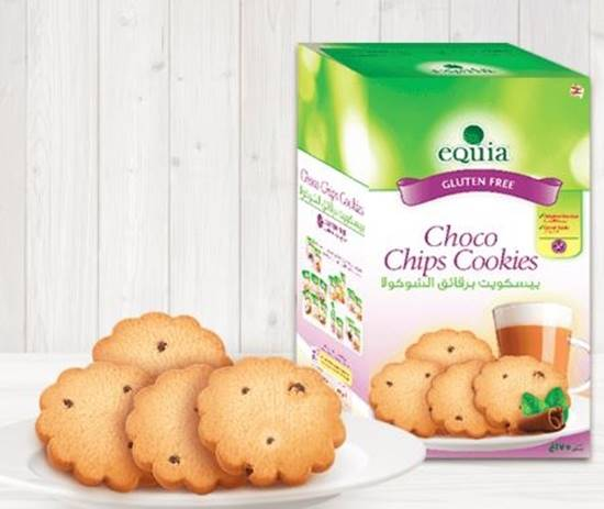 Picture of EQUIA Choco Chips Cookies Gluten free 175 GM