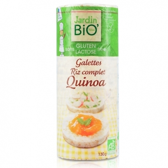 Picture of GALETTES RIZ COMPL/QUINA HS