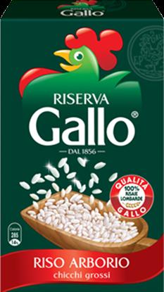 الصورة: أرز ايطالي بحبة الاربوريو