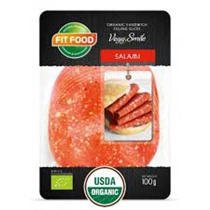 Picture of FIT-FOOD ORGANIC VEGETARIAN SANDWICH FILLING SALAMI
