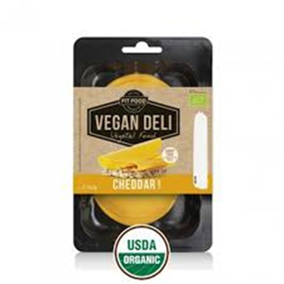 Picture of FIT-FOOD ORGANIC VEGAN SLICES CHEDDAR FLAVOR