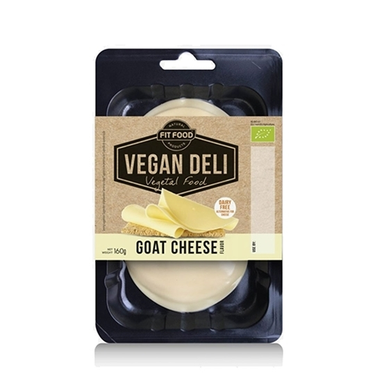 Picture of FIT-FOOD ORGANIC VEGAN SLICES GOAT CHEESE FLAVOR