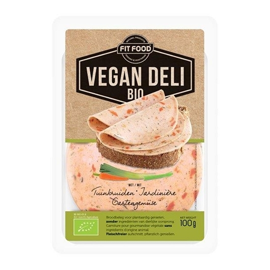 Picture of FIT-FOOD ORGANIC VEGAN SLICES JARDINIER