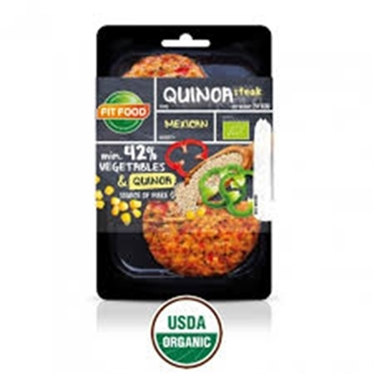 Picture of FIT-FOOD ORGANIC VEGETARIAN STEAK QUINOA MEXICAN