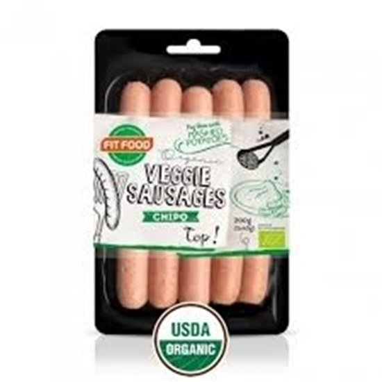 Picture of FIT-FOOD ORGANIC VEGETARIAN SAUSAGE BBQ