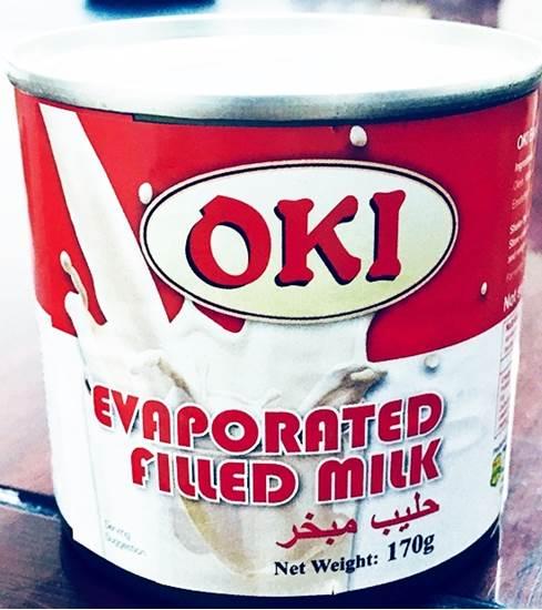 صورة OKI EVAPORATED FILLED MILK 170 GM