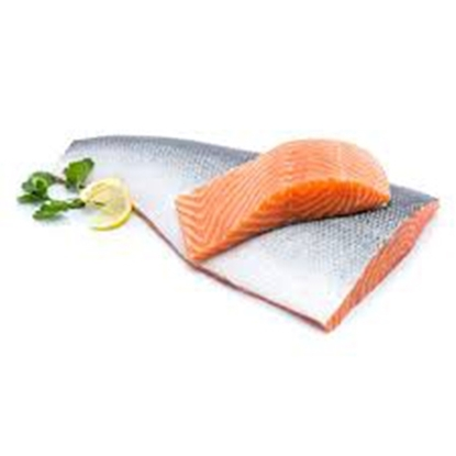 الصورة: SALMON FILLET (1.2 -1.5 kg) SKIN OFF 1* 1 Kg